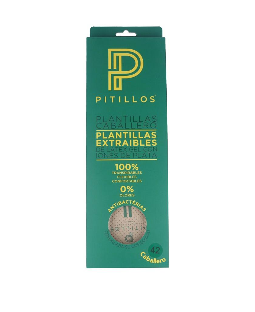 Plantilla extraíble para calzado de caballero Pitillos