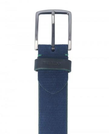 Bellido 950/38 blue split leather belt