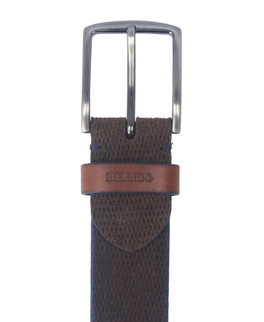 Cinturón en color marrón para hombre Bellido 950/38
