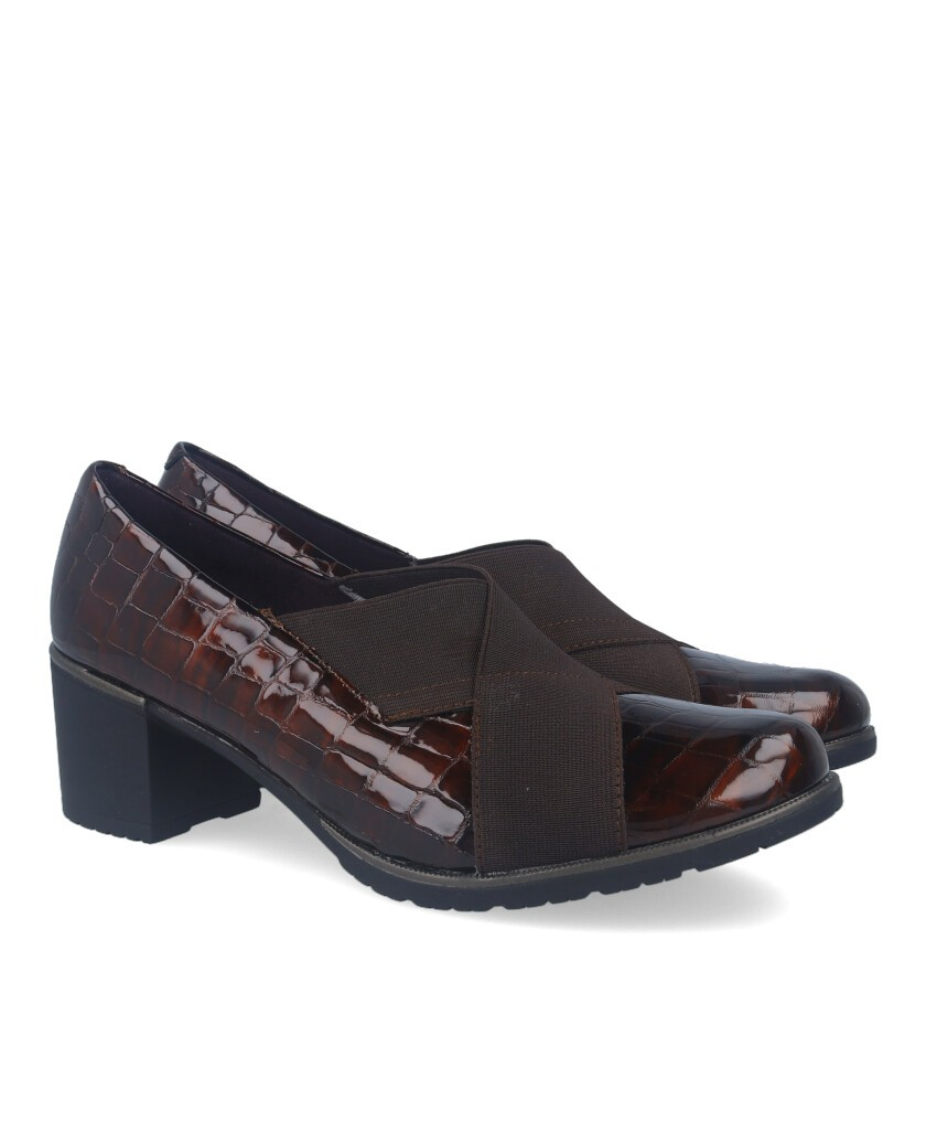 Heeled loafers Pitillos 6330