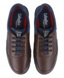 Zapatos cómodos cordones Callaghan 16204 marrón