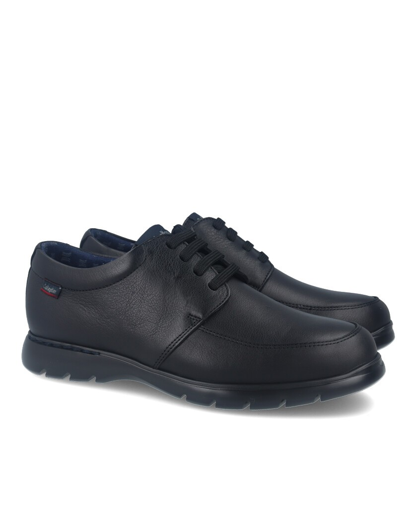 Callaghan 15912 shoes with laces black