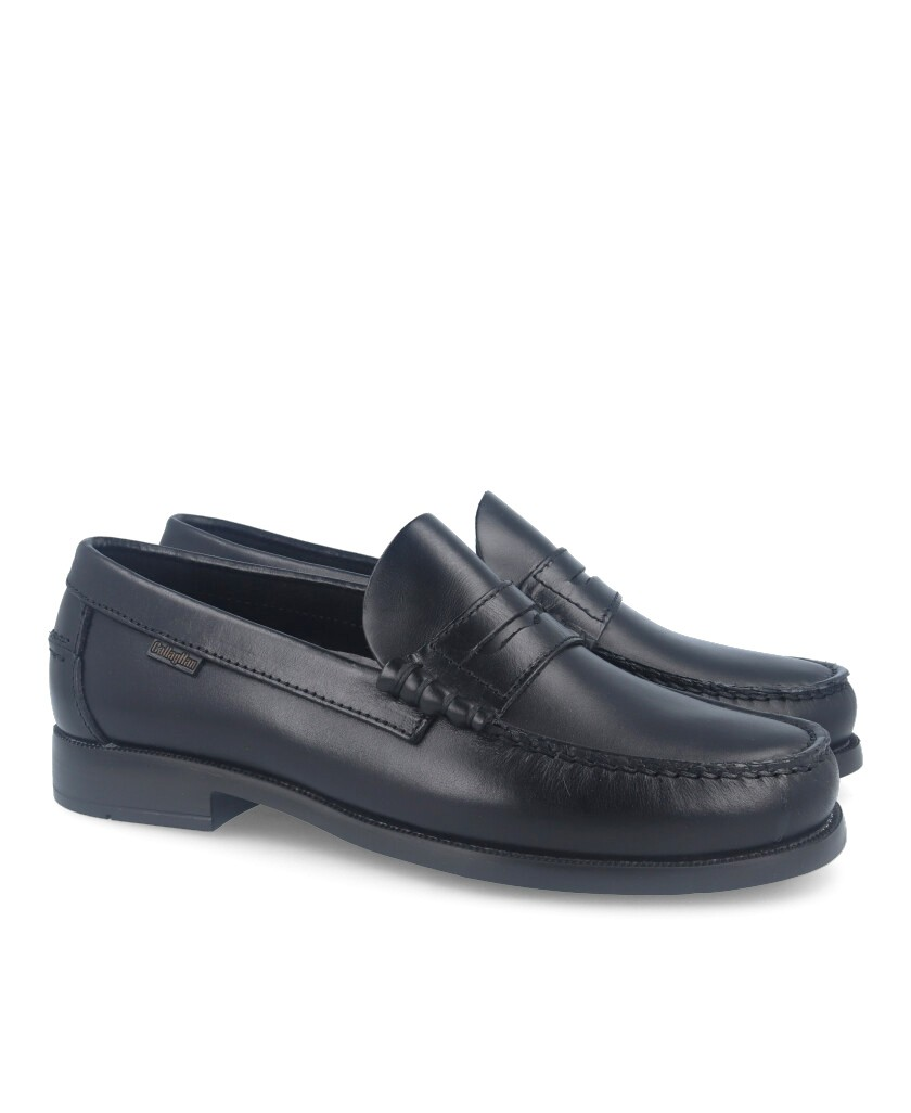 Callaghan 16100 black loafers