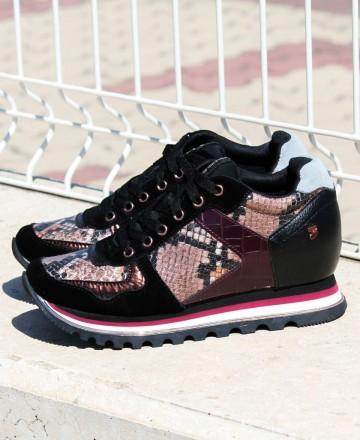 Catchalot Gioseppo Nazran snake print sneakers