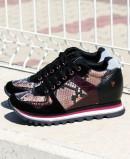 Gioseppo Nazran snake print sneakers