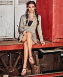 Ipanema Leaf Cristina Pedroche 82860 Women's Brown Flat Toe Sandals
