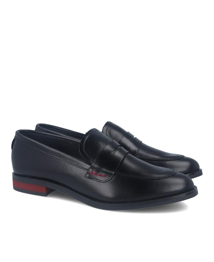 Alma de Candela 507 black loafers