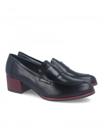 Heeled loafers Alma de Candela 526