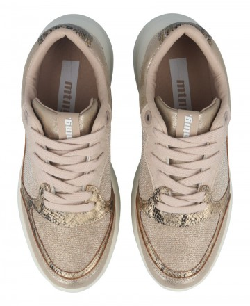 Catchalot Sneaker casual platino Mustang Aiko 69444