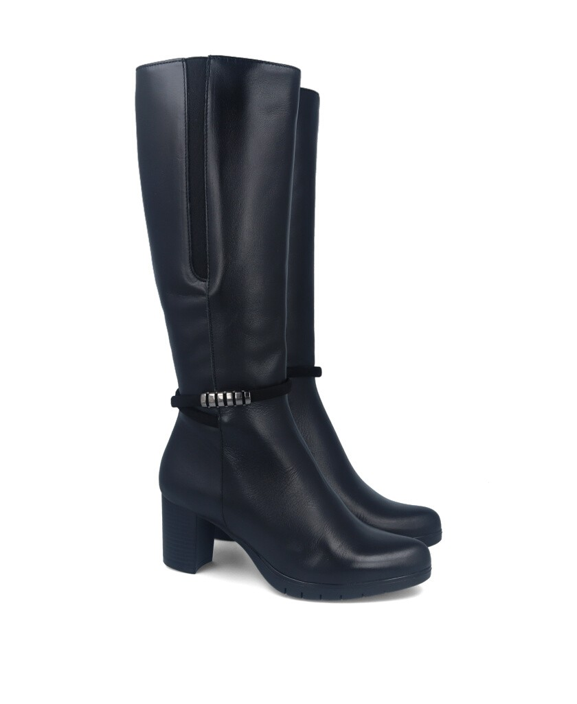 High leather boots Patricia Miller 4082