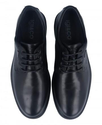 Catchalot Zapato tipo blucher negro Igi&Co 61025 UCTGT