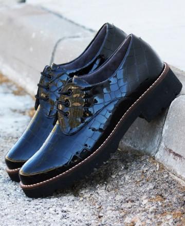 Catchalot Zapato de charol Pitillos 6421