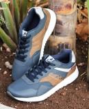 Navy blue sneakers Lois 64047