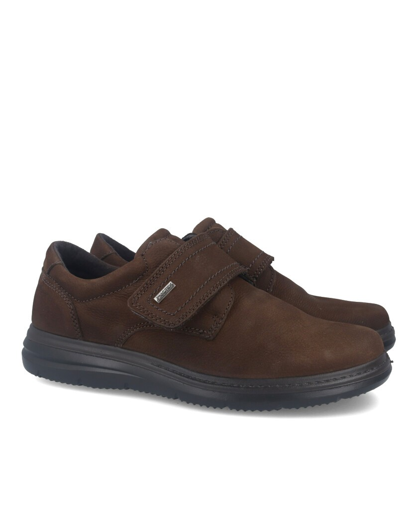 Casual shoe with velcro IMAC 601368