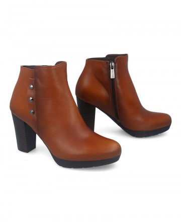 Catchalot Patricia Miller 4055 leather ankle boots