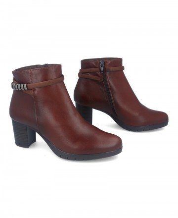 Catchalot Brown casual ankle boots Patricia Miller 4081