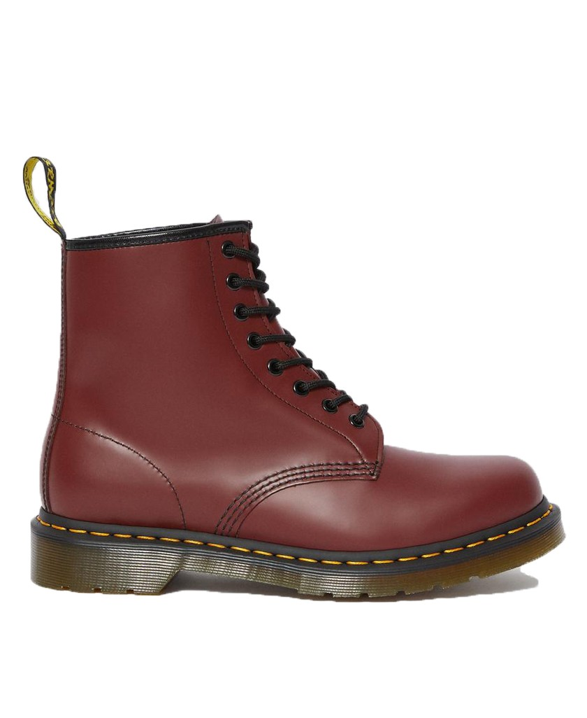 Dr Martens 1460 plain cherry red boot