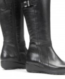 High boot with wedge Fluchos Mar