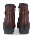 Smooth leather ankle boots Fluchos Mar F1074