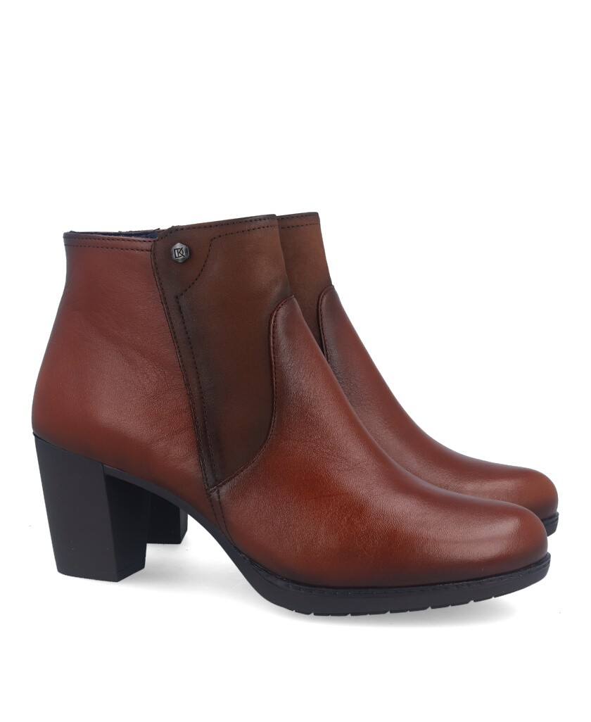 Dorking Evelyn D8438 brown ankle boots