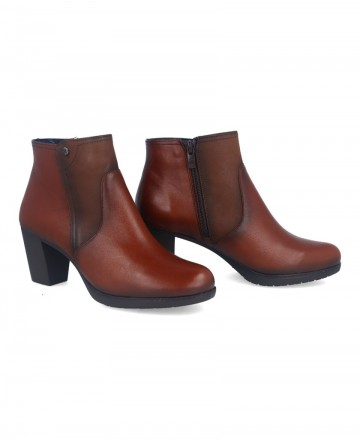 Catchalot Dorking Evelyn D8438 brown ankle boots