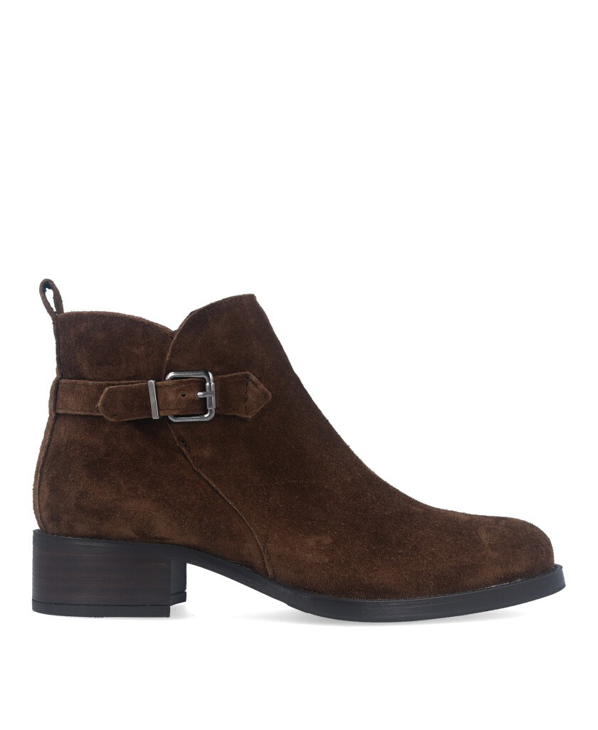 Alpe Alain 4237 ankle boot with buckle