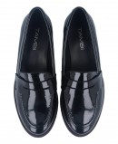 Classic Tambi Leeds patent leather loafers