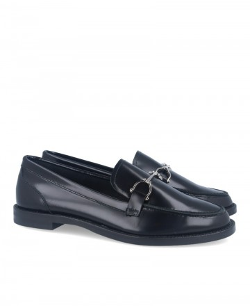 Loafer with silver stirrup Catchalot 82327