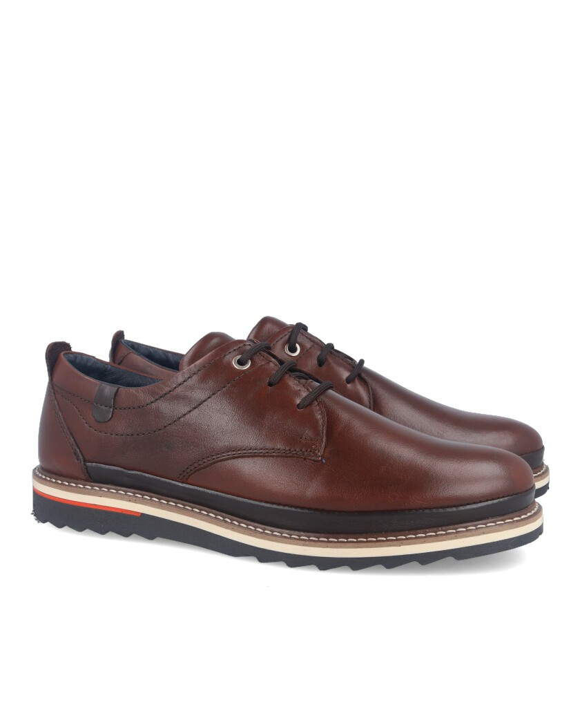 Brown casual style shoe Catchalot 8387