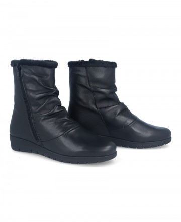 Catchalot Andares black leather boots 206248