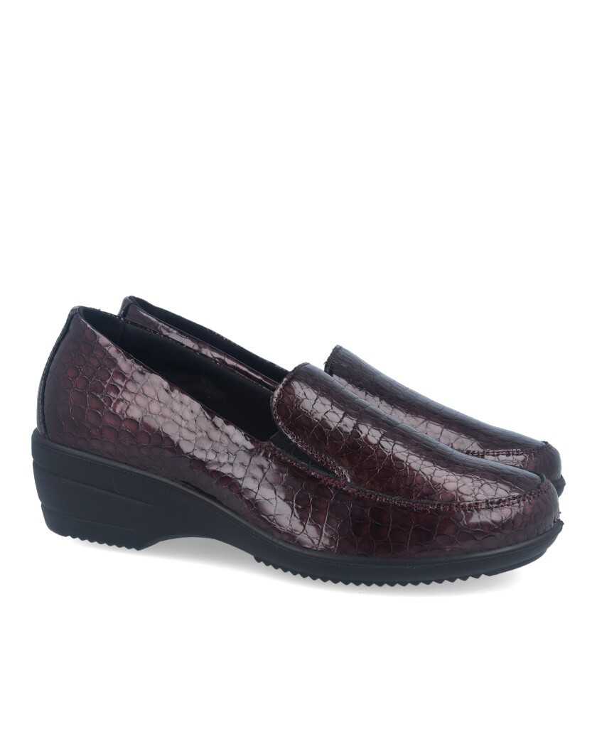 Moccasin with wedge IMAC 607260