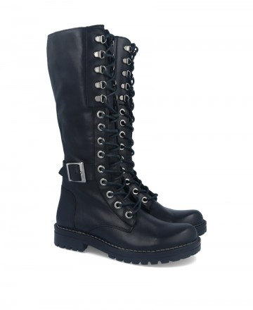 High-waisted military boot Catchalot 5279