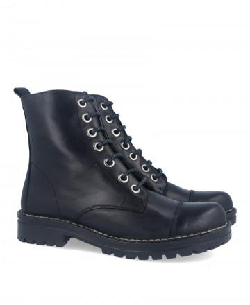 Black military boot Catchalot 5265