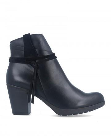 Black country style boot Tambi Night