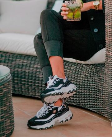 Catchalot Sneakers Skechers D'Lites Devoted Fan 13154
