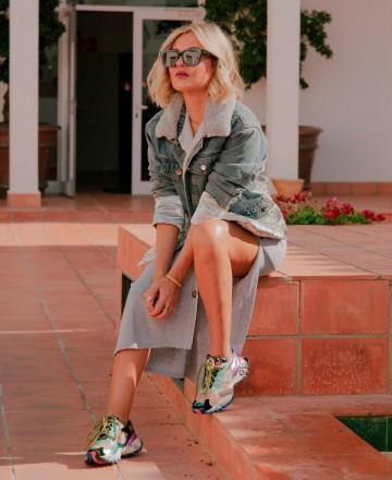 Catchalot Sneakers fashion coloridas Exé K134