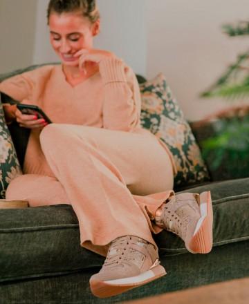 Catchalot Zapatos casual con cuña interna y print de serpiente Gioseppo Rapla 60450