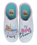 Illustrated Slippers Hot Potatoes Herbon 61043
