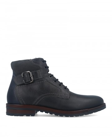 Casual style black boot Catchalot 4679