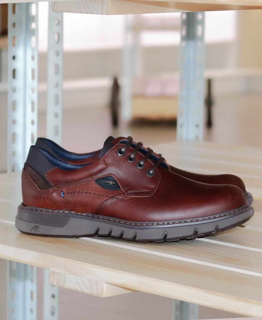 Brown shoes Fluchos Celtic F0247