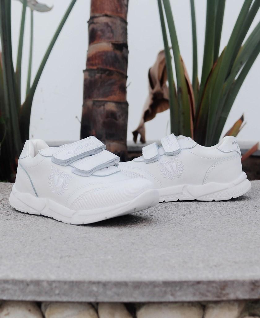 Zapatillas blancas Pablosky 265500