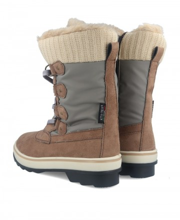 Catchalot Sue Taupe Snow Boots