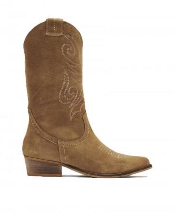 Zapatos Mujer - Botas camperas con costuras Bryan Jandra