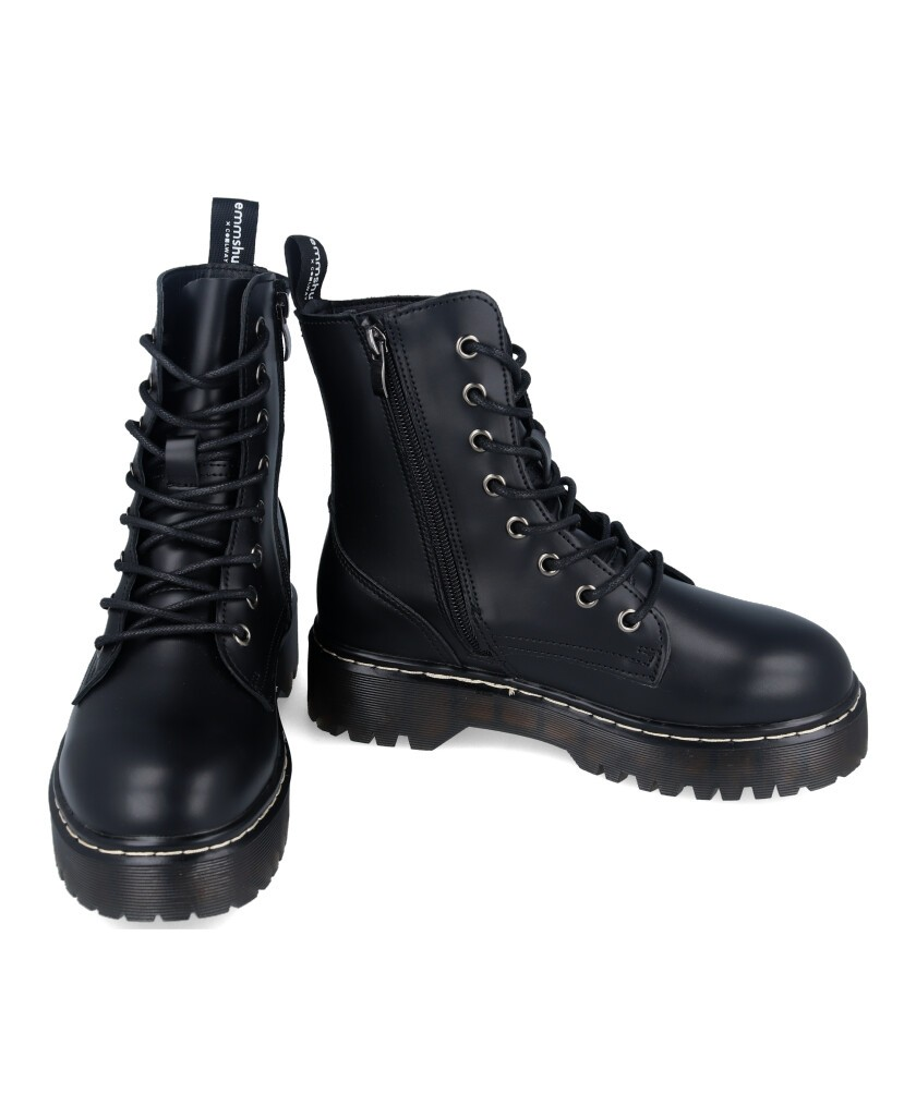 Botas negras Coolway Cardy
