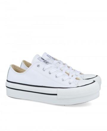 Zapatilla tipo basket blanca Victoria 1061106