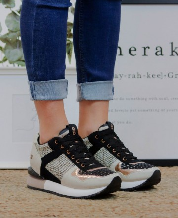Sneaker con mix de texturas Gioseppo Lubbock 62576