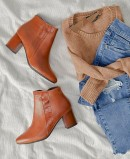 Pitillos 6403 leather ankle boots