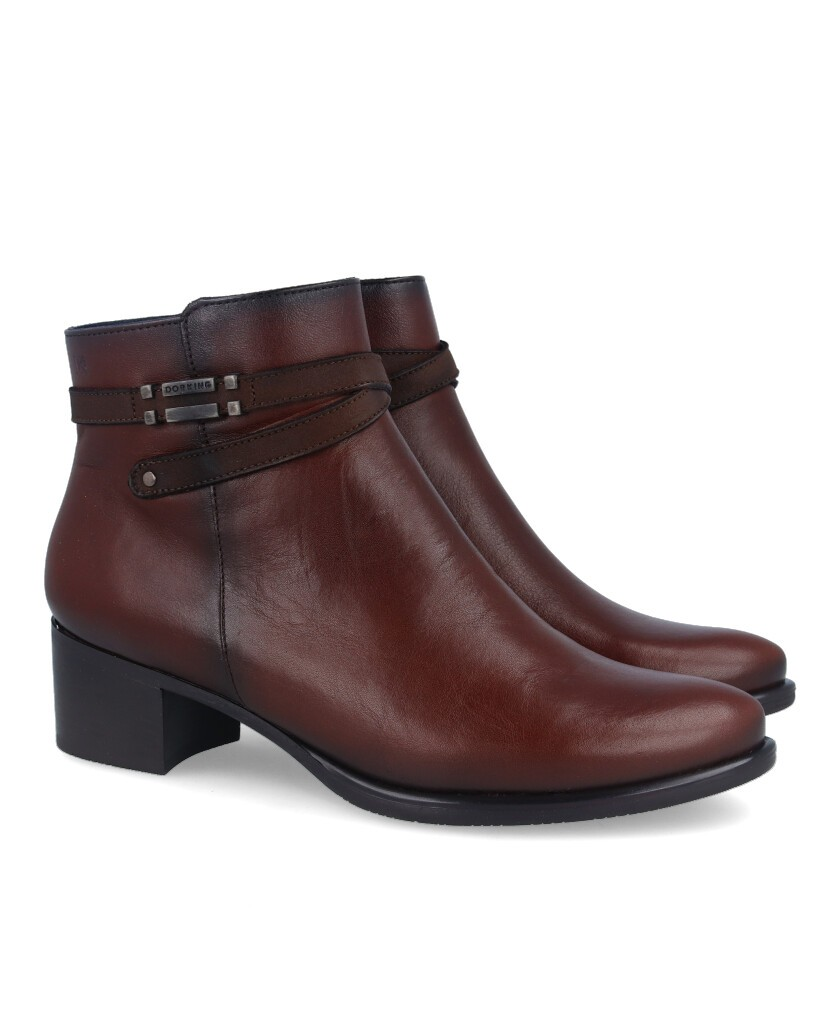 Dorking Alegría D7637 leather ankle boots