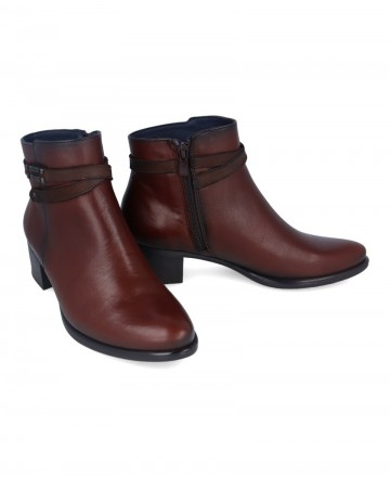 Dorking by Fluchos leather ankle boots