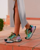 Sneakers fashion coloridas Exé K134